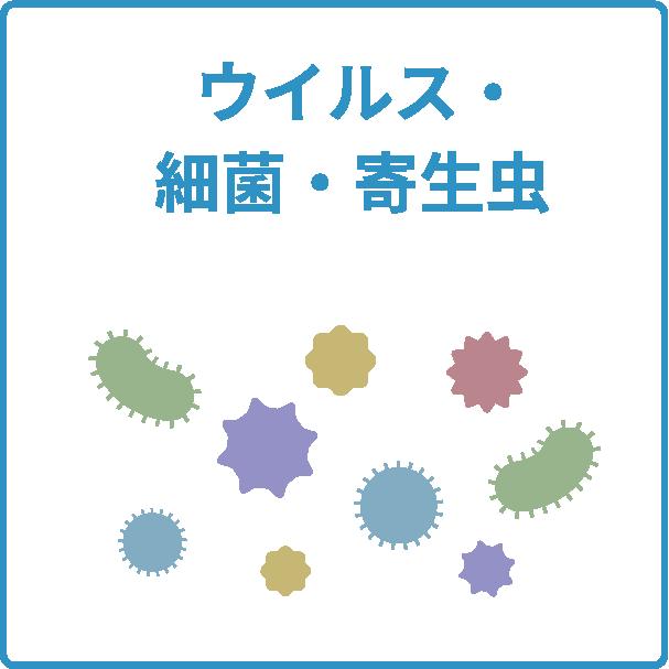 ウイルス・細菌・寄生虫