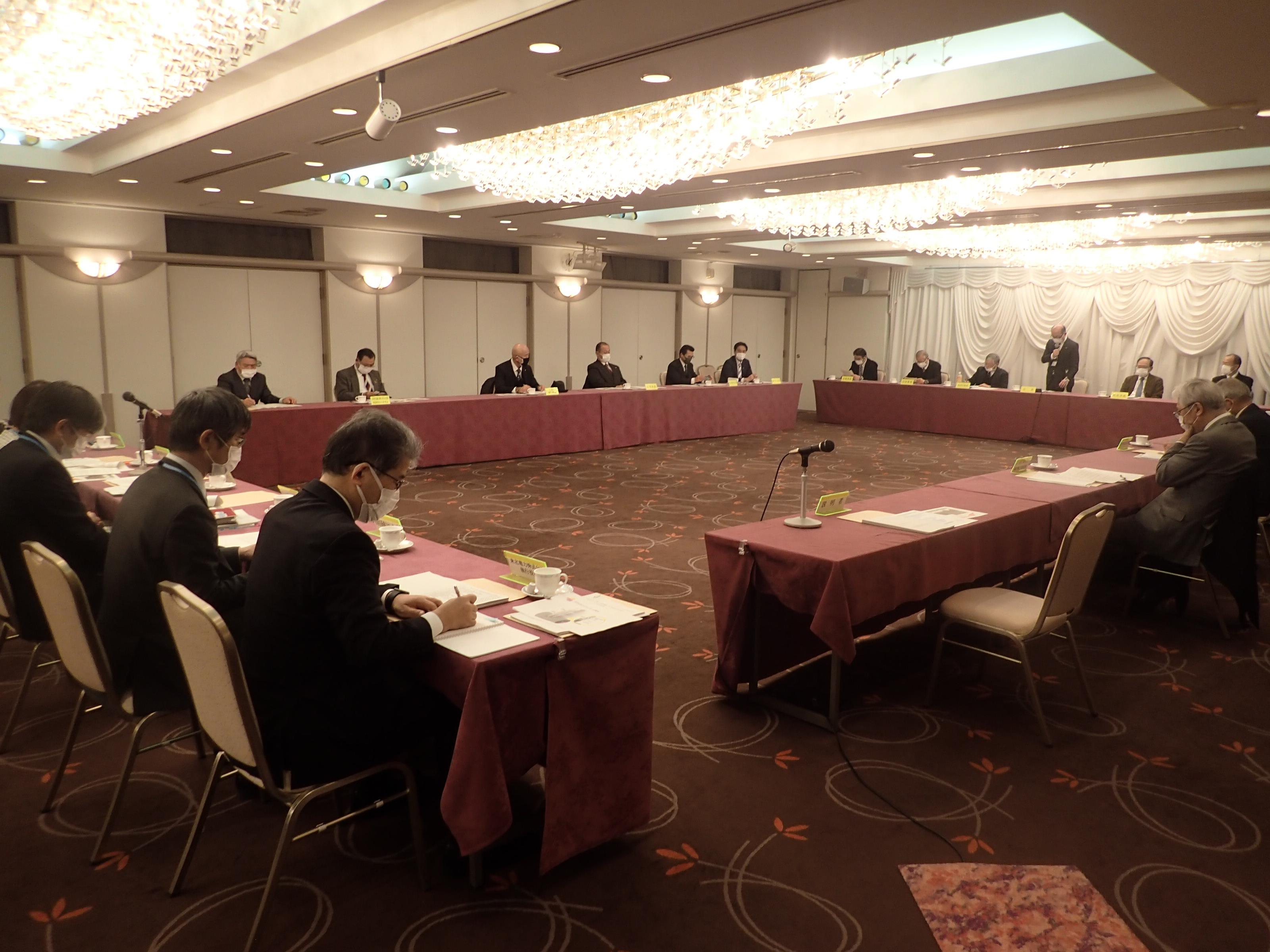第155回女川原子力発電所環境保全監視協議会を開催しました(令和3年2月19日)
