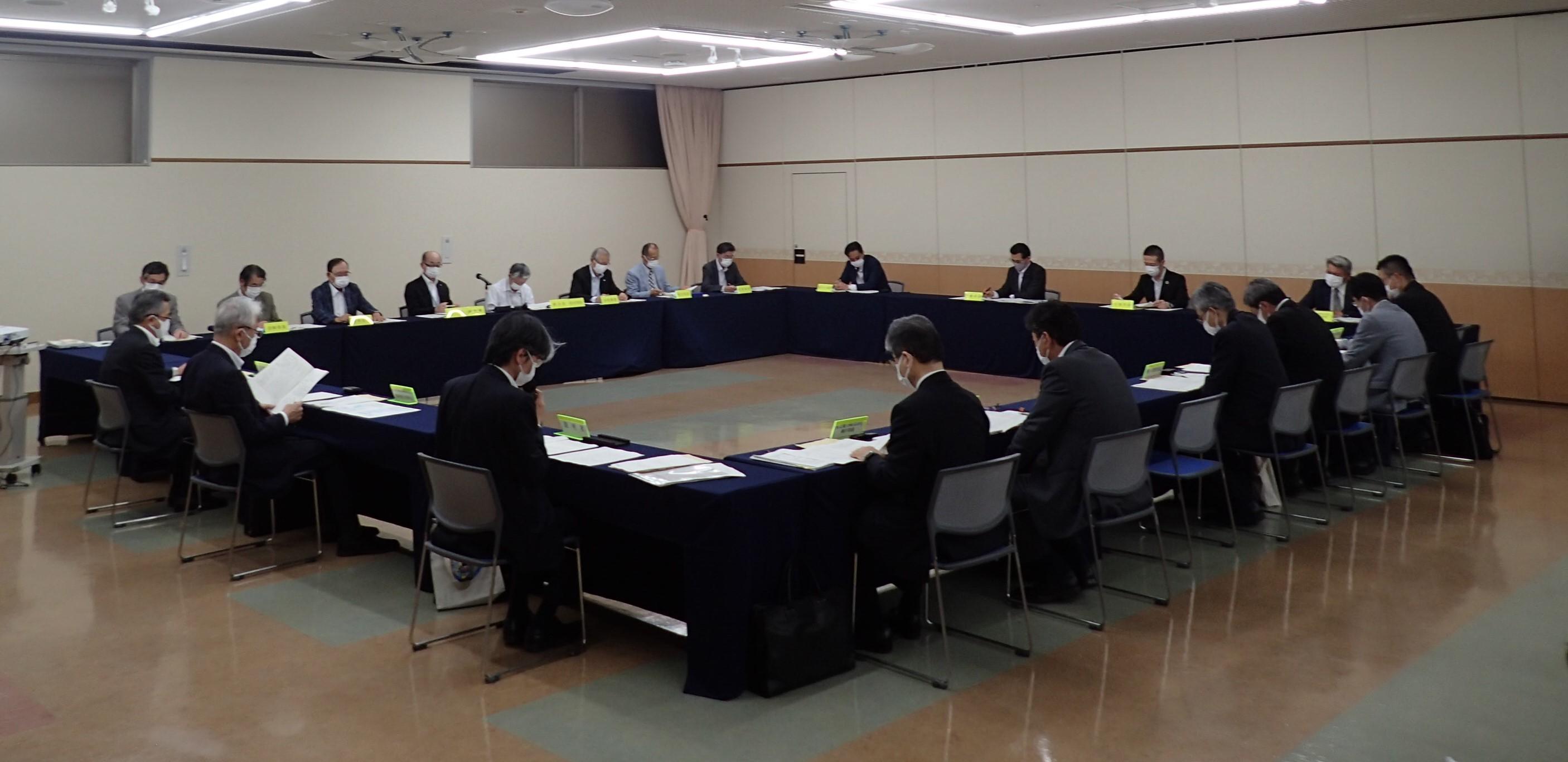 第156回女川原子力発電所環境保全監視協議会を開催しました(令和3年6月8日)